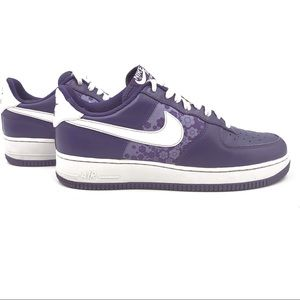 NIKE Air Force 1 purple size 9